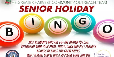 Senior Holiday Bingo tickets