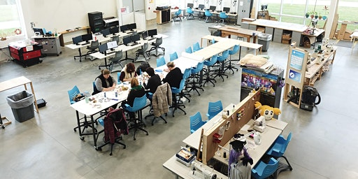 NEW Fab Lab 101- intro laser cutting/engraving, 3D print, vinyl, sewing