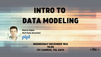 Into to Data Modeling