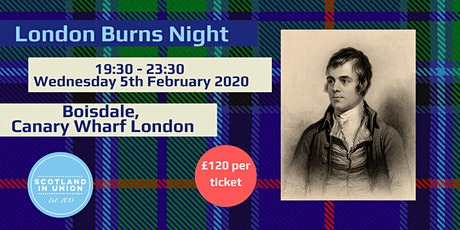 Burns Night at Boisdale, London tickets