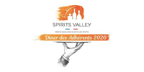 Spirits Valley - Dîner des Adhérents 2020 tickets