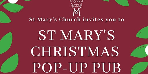 St Mary's Church Pop-up Pub