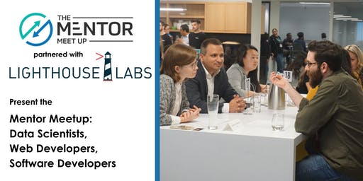 The Mentor Meetup: Web Developers, Data Scientists and Software Developers