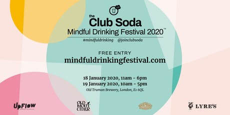 Mindful Drinking Festival - January 2020 tickets