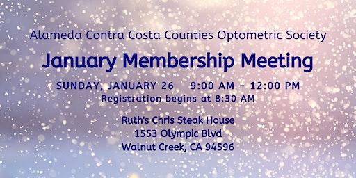 ACCCOS January Membership Meeting