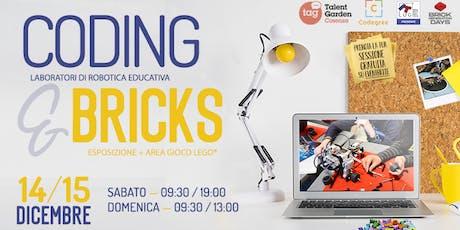 Coding&Bricks biglietti