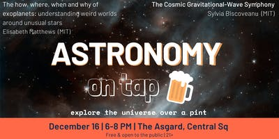 Astronomy on Tap, Boston