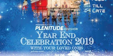 Plenitude Division Year End Celebration 2019 tickets