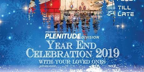 Plenitude Division Year End Celebration 2019 tickets