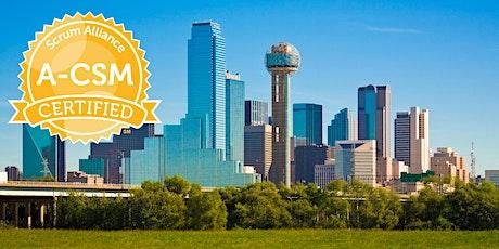 Advanced Certified ScrumMaster® Class - Dallas / Plano / Frisco tickets