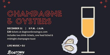 New Year's Eve Party: Champagne & Oysters tickets