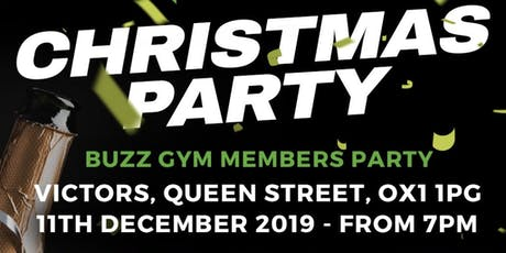 Oxford Members Christmas Party 2019 tickets