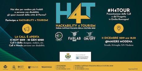 H4Tour @Makers Modena biglietti