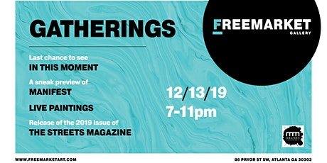 Gatherings - An Art Party by FreeMarket Gallery tickets