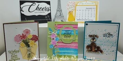 December Card Making Class / Make n' Take