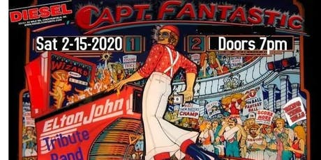 Captain Fantastic - A Tribute to Elton John tickets