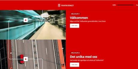 Digital onboarding med Trafikverket tickets