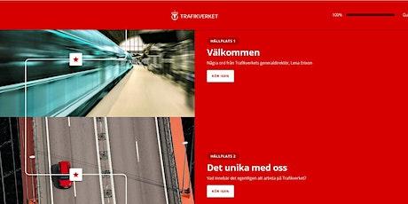 Digital onboarding med Trafikverket biljetter
