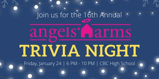 16th Annual Angels' Arms Trivia Night