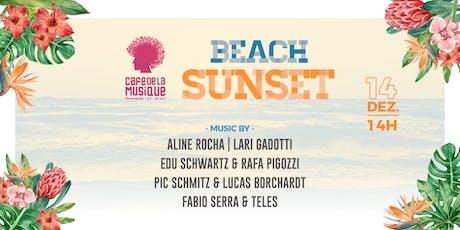 Beach Sunset 14/12 - Café de La Musique Floripa ingressos