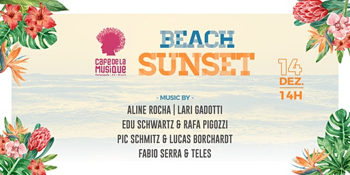 Beach Sunset 14/12 - Café de La Musique Floripa