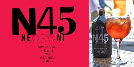 N45 Negroni -  Pão de Açúcar Ricardo Jafet ingressos