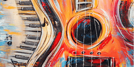 Sip & Paint : A GUITAR @ Johnny Utahs,  15%OFF! Sunday Aft. tickets