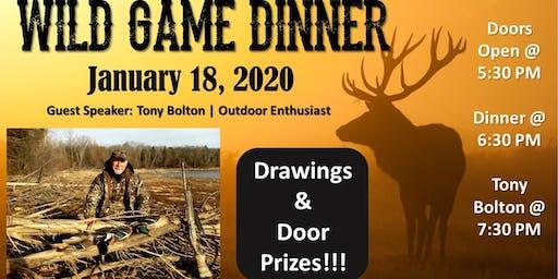 UCC Wild Game Dinner