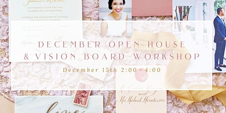 McAlister-Leftwich Open House & Vision Board Workshop tickets