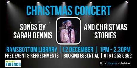 Christmas concert at Ramsbottom Library tickets
