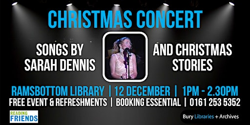 Christmas concert at Ramsbottom Library