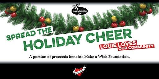 Louie Loves at Bar Louie North Shore  benefiting Make a Wish Foundation
