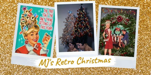 MJ's Retro Themed Christmas Tables and Tunes