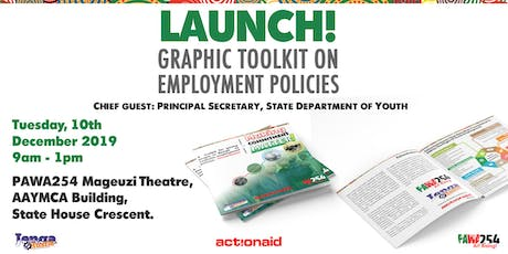 Launch of Graphic Toolkit on Employment Policies in Kenya tickets