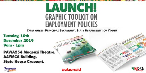 Launch of Graphic Toolkit on Employment Policies in Kenya