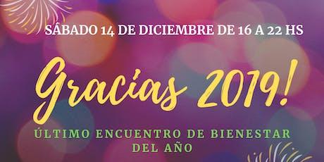 ENCUENTRO DE BIENESTAR  - DESPIDIENDO EL 2019  - entradas