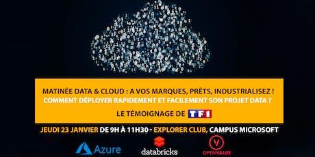Matinée Data & Cloud : A vos marques, prêts, industrialisez ! billets