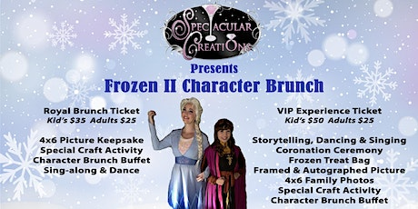 Frozen II Character Brunch & Meet and Greet tickets