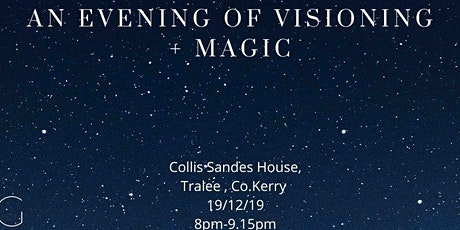 An evening of Visioning + Magic tickets