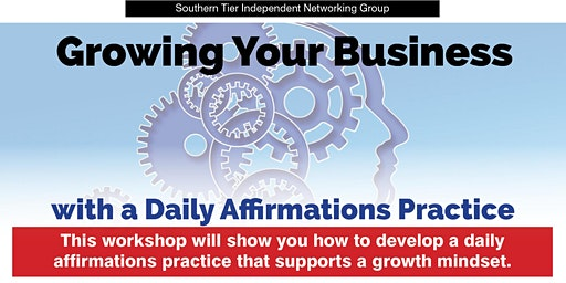 STING Workshop: Growing Your Business with a Daily Affirmations Practice