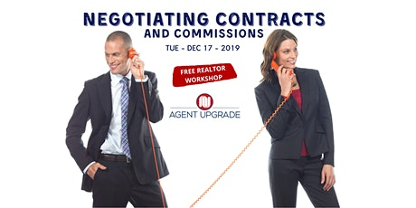 NEGOTIATING CONTRACTS AND COMMISSIONS tickets