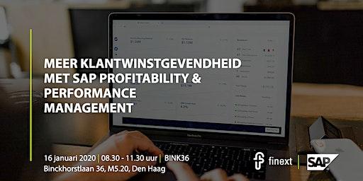 Meer klantwinstgevendheid met SAP Profitability & Performance Management