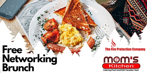 Free Brunch Networking at Mom's Kitchen with The Fire Protection Company