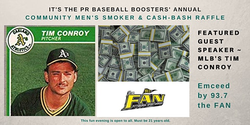 2020 Men's Smoker~Pine Richland Baseball Boosters + Celebrity Entertainers!