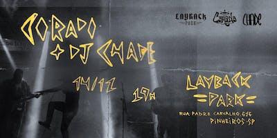 Corado e DJ Chade na LayBack Park