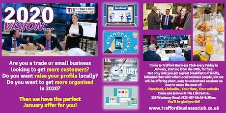 Trafford Business Club 2020 Vision tickets