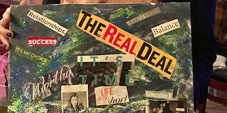 VISION BOARD COLLAGE @ ATWOOD LOUNGE tickets