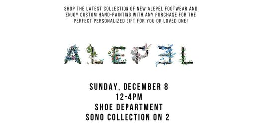 New Alepel Shoe Customization Event