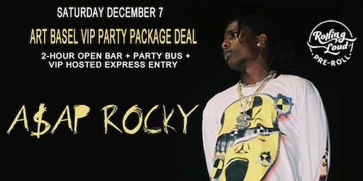 A$AP ROCKY - Saturday - 12-07-2019