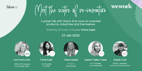 Sistr Social - Meet the Sistrs of Re-Invention tickets